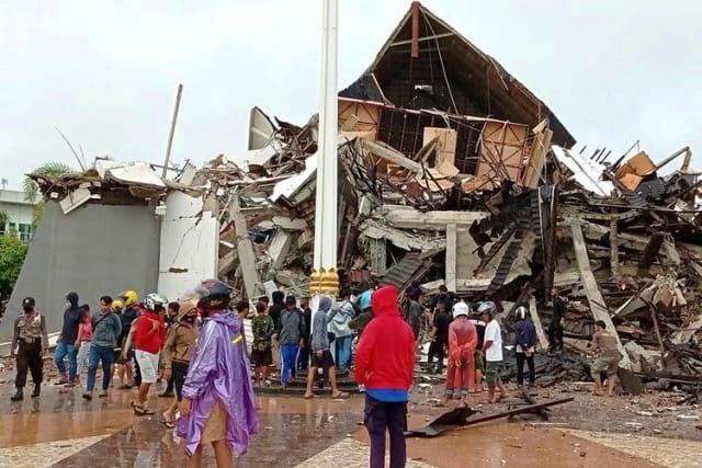 Donasi gempa sulawesi barat