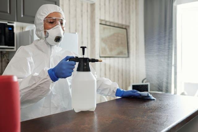 semprot disinfektan adalah proses desinfeksi