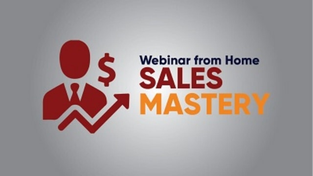 webinar sales mastery