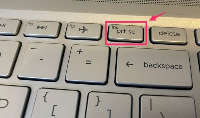 Cara Screenshot Menggunakan Tombol Keyboard PrtSrc