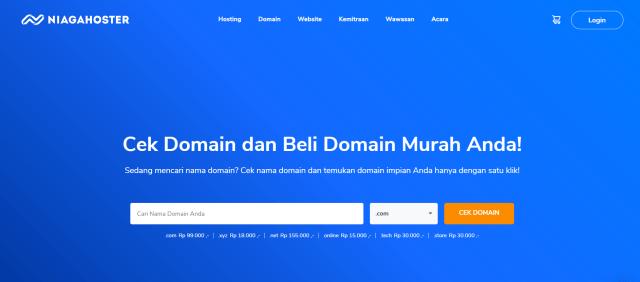 Rekomendasi Tempat Beli Domain Murah